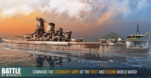 تحميل لعبة معركه البواخر البحرية مجانا للموبايل Battle of Warships