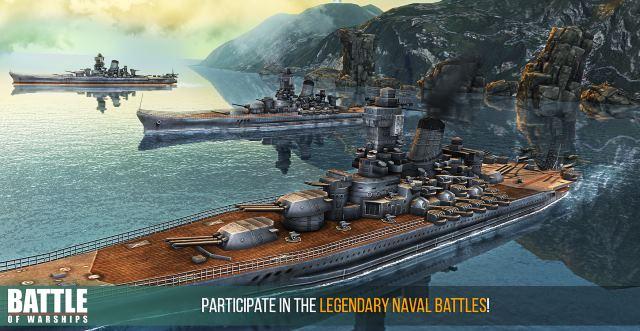 تحميل لعبة معركه البواخر البحرية مجانا Battle of Warships