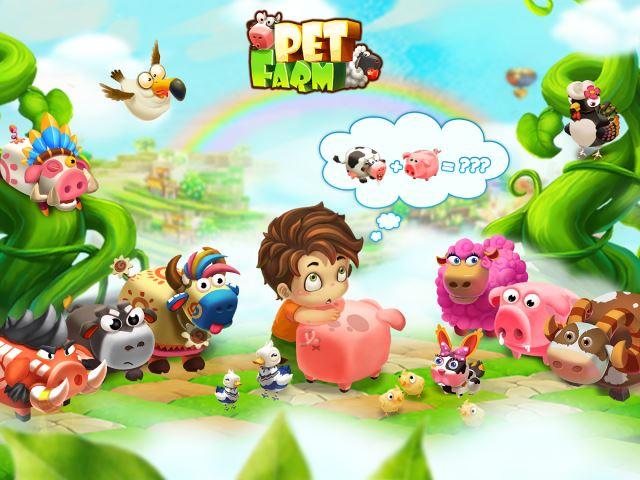 تحميل لعبه مزرعة تربية الحيوانات الاليفة Animal Farm