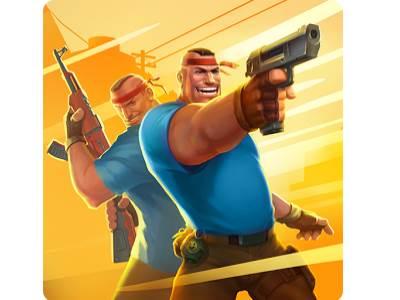 تحميل لعبة اطلاق نار وضرب مسدسات مجانا Guns Shooter
