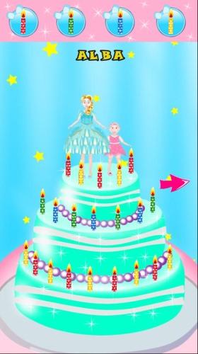 تحميل العاب صنع الكيك والبيتزا للاندرويد Princess Cake