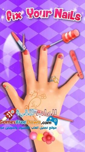 تحميل لعبه صالون تجميل الشعر للبنات Girl Beauty Salon