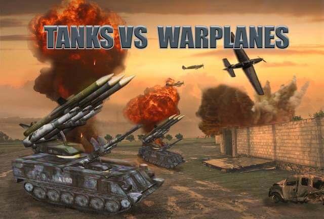تحميل العاب حرب دبابات وطائرات وجنود