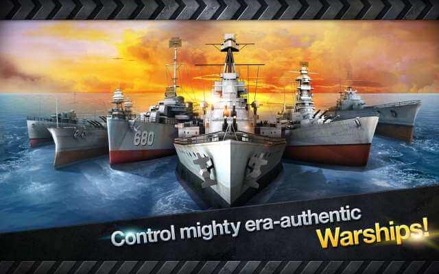 لعبة حرب السفن والطائرات الحربية