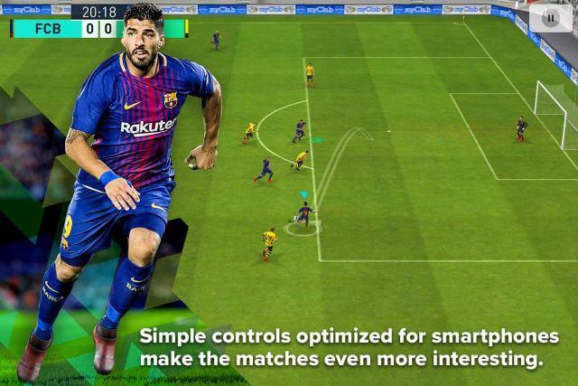 تحميل لعبة بيس كرة القدم العالميه PES
