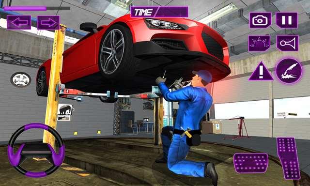 تحميل لعبه ميكانيكي السيارات للأندرويد Car Mechanic
